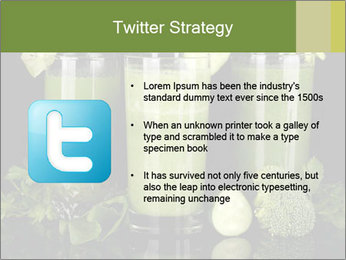 Three kinds of green juice PowerPoint Template - Slide 9