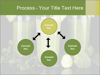 Three kinds of green juice PowerPoint Template - Slide 91