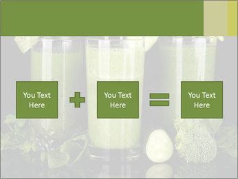 Three kinds of green juice PowerPoint Template - Slide 95
