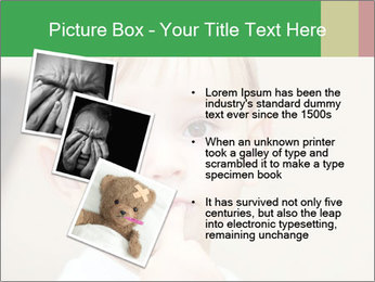 Little boy dangerous PowerPoint Template - Slide 17