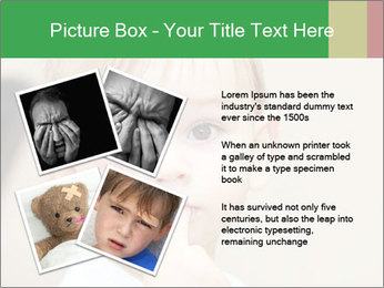 Little boy dangerous PowerPoint Template - Slide 23