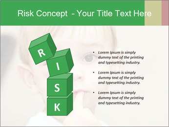 Little boy dangerous PowerPoint Template - Slide 81