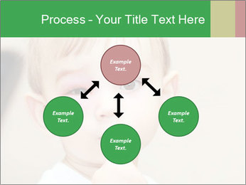 Little boy dangerous PowerPoint Template - Slide 91