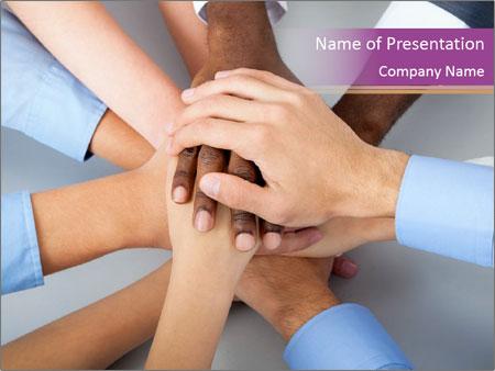 International business team PowerPoint Template