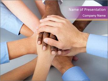 International business team PowerPoint Template - Slide 1