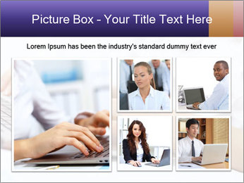 Young manager working PowerPoint Template - Slide 19