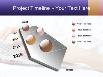 Young manager working PowerPoint Template - Slide 26