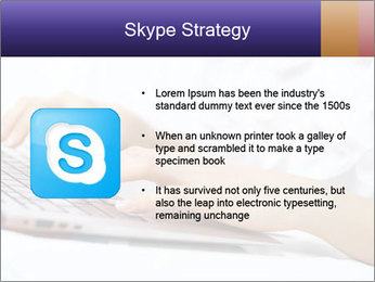 Young manager working PowerPoint Template - Slide 8