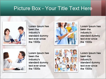 Doctor examining his patient's PowerPoint Template - Slide 14