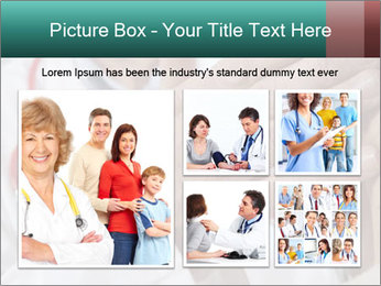 Doctor examining his patient's PowerPoint Template - Slide 19
