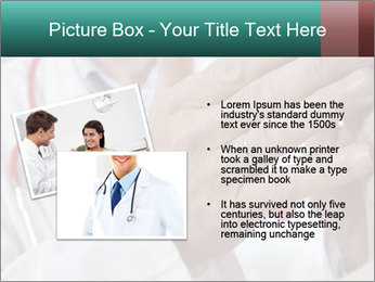 Doctor examining his patient's PowerPoint Template - Slide 20