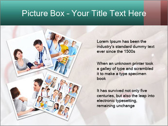 Doctor examining his patient's PowerPoint Template - Slide 23
