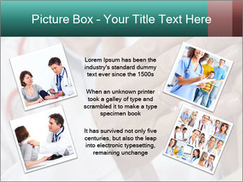 Doctor examining his patient's PowerPoint Template - Slide 24