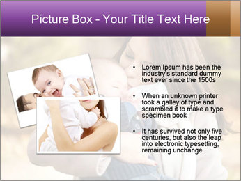 Baby drinking milk PowerPoint Templates - Slide 20