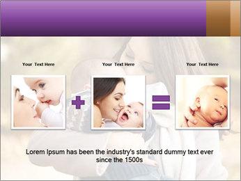 Baby drinking milk PowerPoint Templates - Slide 22