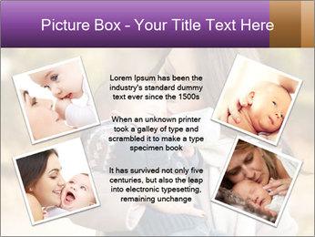 Baby drinking milk PowerPoint Templates - Slide 24