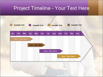 Baby drinking milk PowerPoint Templates - Slide 25