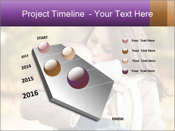 Baby drinking milk PowerPoint Templates - Slide 26