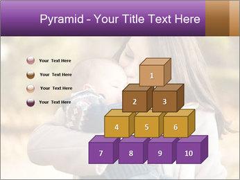 Baby drinking milk PowerPoint Templates - Slide 31