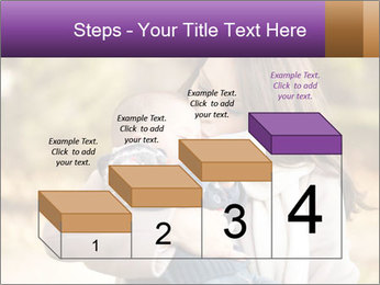 Baby drinking milk PowerPoint Templates - Slide 64