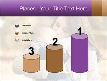 Baby drinking milk PowerPoint Templates - Slide 65