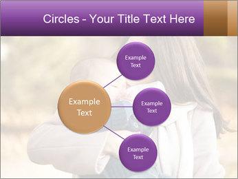 Baby drinking milk PowerPoint Templates - Slide 79