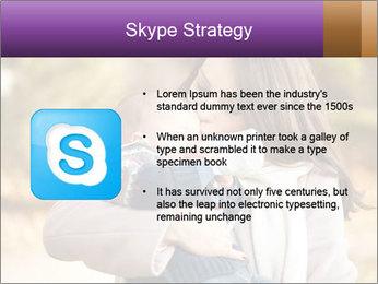 Baby drinking milk PowerPoint Templates - Slide 8