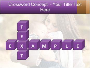 Baby drinking milk PowerPoint Templates - Slide 82