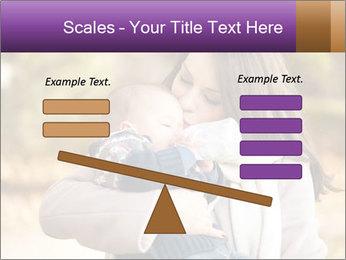 Baby drinking milk PowerPoint Templates - Slide 89