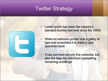 Baby drinking milk PowerPoint Templates - Slide 9