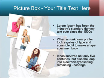 Pretty MBA Student PowerPoint Template - Slide 17