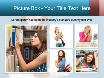 Pretty MBA Student PowerPoint Template - Slide 19