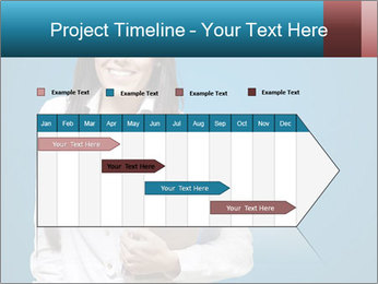 Pretty MBA Student PowerPoint Template - Slide 25