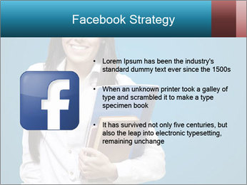 Pretty MBA Student PowerPoint Template - Slide 6