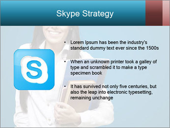 Pretty MBA Student PowerPoint Template - Slide 8
