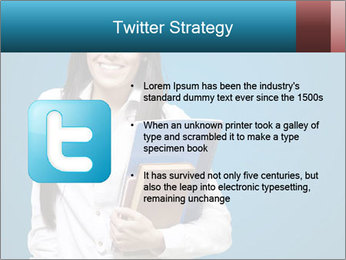 Pretty MBA Student PowerPoint Template - Slide 9