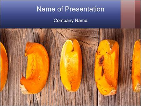 Baked Pumpkin PowerPoint Templates