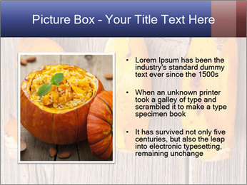 Baked Pumpkin PowerPoint Template - Slide 13