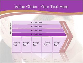 Long Dark Hair PowerPoint Templates - Slide 27