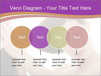Long Dark Hair PowerPoint Templates - Slide 32