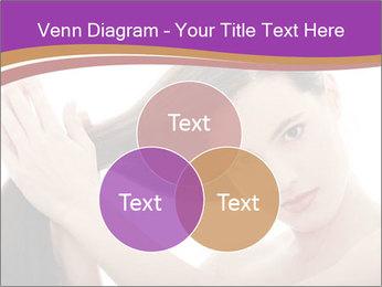 Long Dark Hair PowerPoint Templates - Slide 33
