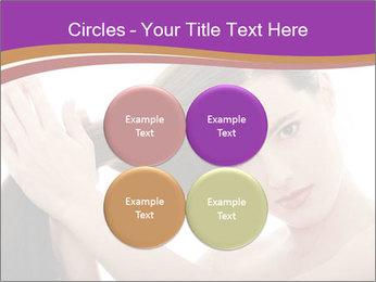 Long Dark Hair PowerPoint Templates - Slide 38
