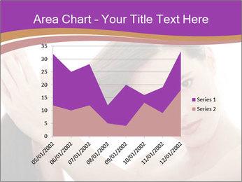 Long Dark Hair PowerPoint Templates - Slide 53