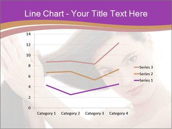 Long Dark Hair PowerPoint Templates - Slide 54