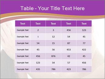 Long Dark Hair PowerPoint Templates - Slide 55