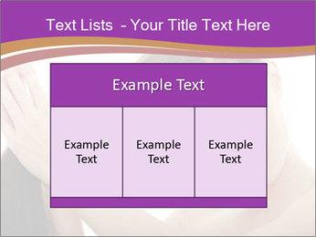 Long Dark Hair PowerPoint Templates - Slide 59