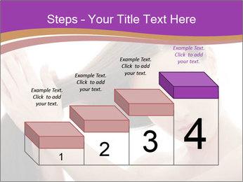 Long Dark Hair PowerPoint Templates - Slide 64