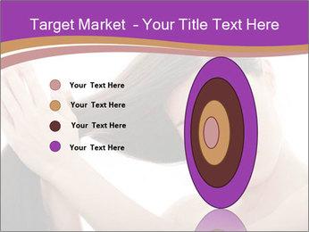 Long Dark Hair PowerPoint Templates - Slide 84
