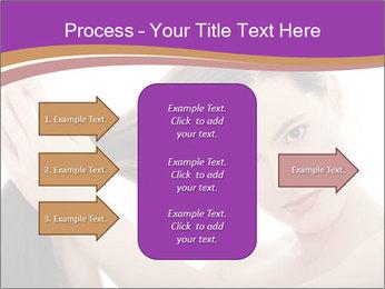 Long Dark Hair PowerPoint Templates - Slide 85