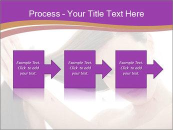 Long Dark Hair PowerPoint Templates - Slide 88